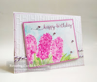 http://reusingwithquilling.blogspot.in/2016/05/purple-hyacinth-birthday-card.html