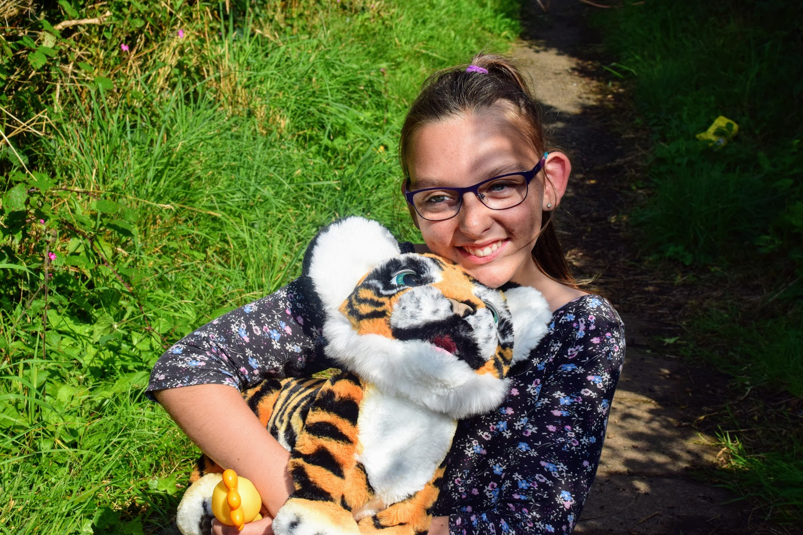 , Our New Pet:  FurReal Roarin' Tyler the Playful Tiger Review Now £99
