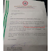 See photo:Viral photo of the alleged employment letter of a River State Senator whose media aide earns 30k