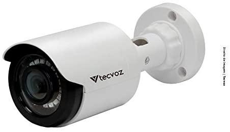 Câmera Bullet Flex HD CB128P Tecvoz Branco