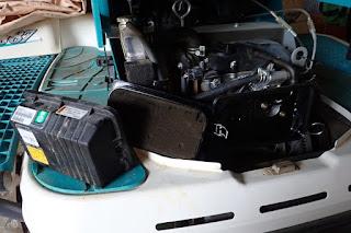 クボタ田植機NSU87エアクリーナー洗浄