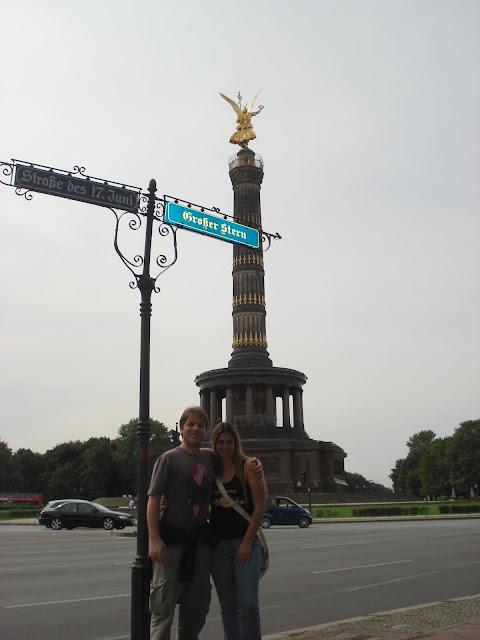 Siegessäule ou Victory Column, Berlim.