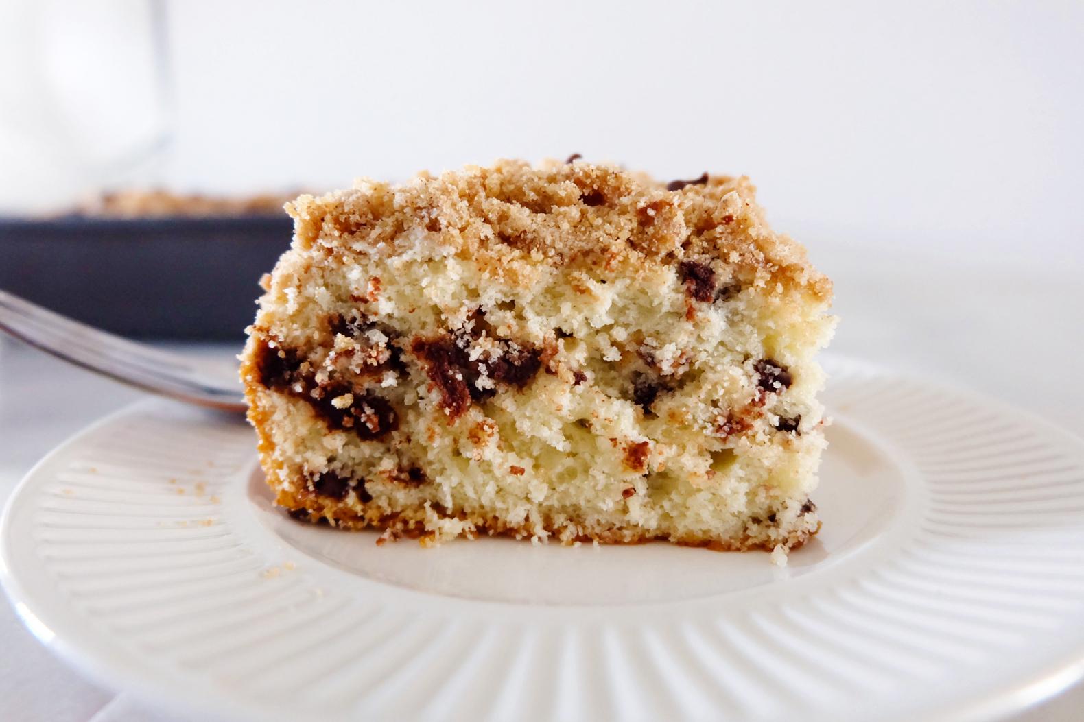 chocolate chip crumb coffee cake