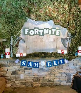24 ideas para Fiesta de Cumpleaños Fortnite 9