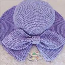 Sombrero Bebé a Crochet