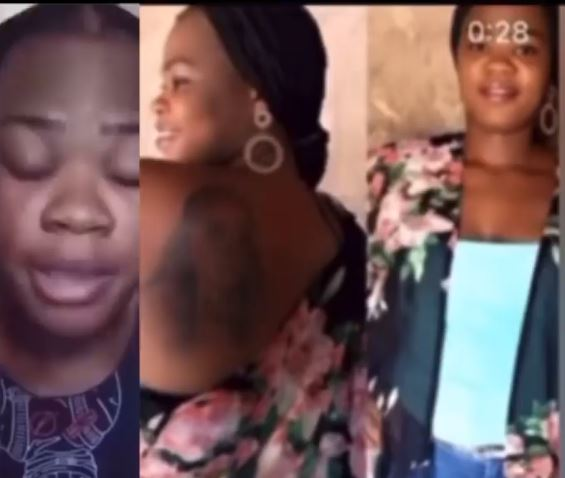 Lady Who Drew A Tattoo Of Bobrisky's Face On Her Back Says She's Been Disowned By Her Father (Video)