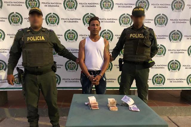 Otro venezolano capturado en el centro de Maicao por robar una billetera