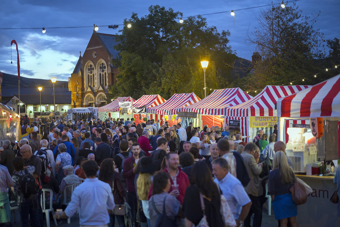 Night Market Abergavenny Food Festival