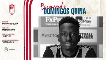 Oficial: Granada, firma cedido Domingos Quina