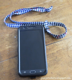 Phone Loop and Lanyard - DIY Sewing Tutorial