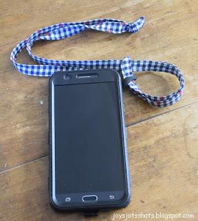 Phone Loop and Lanyard - DIY Sewing Tutorial