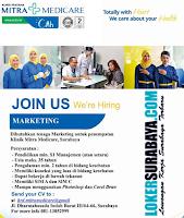 Bursa Kerja Surabaya Terbaru di Mitra Medicare Oktober 2019