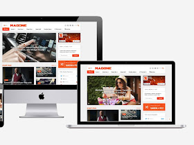 Download MagOne 6.0 - Responsive News & Magazine Blogger Template - Responsive Blogger Template