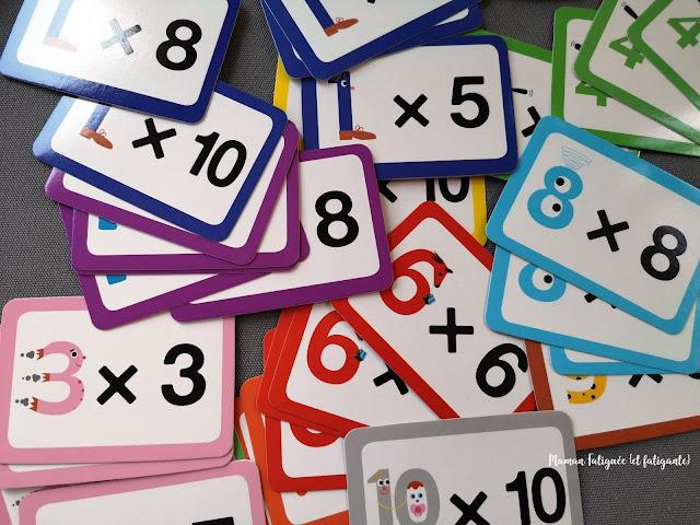 tables multiplication ludique