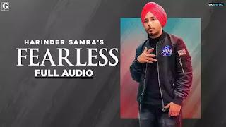 फियरलेस Fearless Lyrics - Harinder Samra