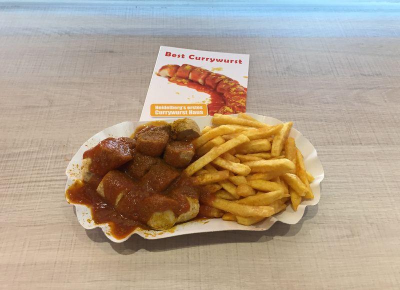 Best Currywurst Heidelberg