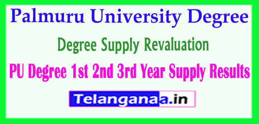 Palmuru University Degree Supply Revaluation Results