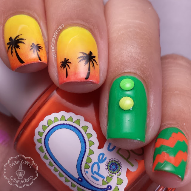 Born Pretty Store - Hawaii Palm Tree Water Decals