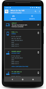 WHO'S ON MY WIFI – NETWORK SCANNER v10.0.0 [Premium] APK