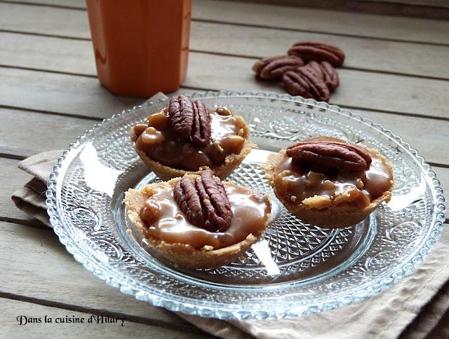 Tartelettes aux noix de pécan revisitées
