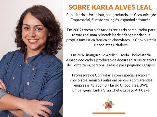 Chocolatier Karla Alves Leal
