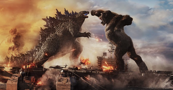 Godzilla vs. Kong Movie Review:  Calling it a big, dumb monster movie is a huge compliment