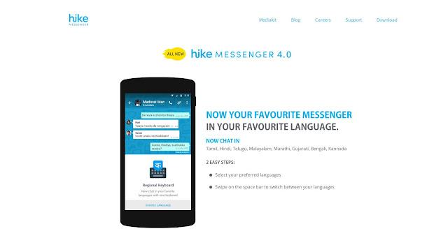 Hike Messenger App Apk