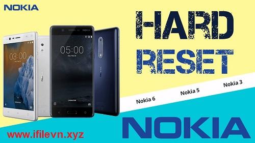 Hard Reset Nokia 3 (TA 1020, TA 1028, TA 1032, TA 1038)