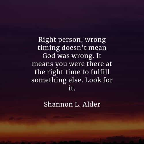 Time wrong god person right The Right