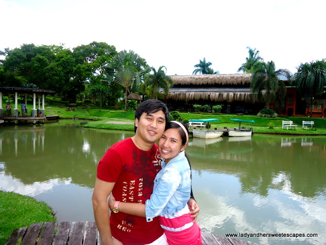 Ed and Lady at Rafael's Farm Leyte
