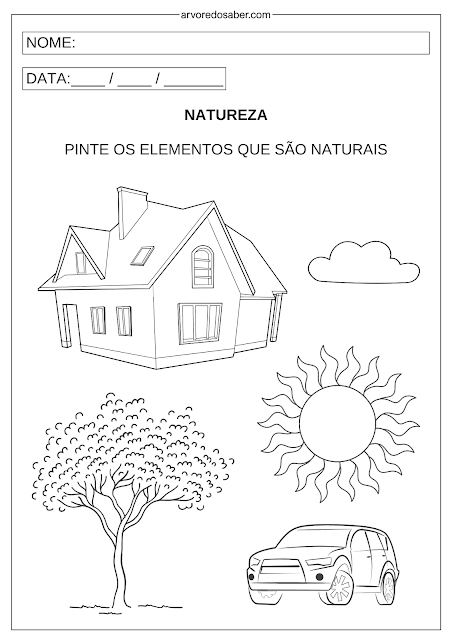 Atividade Dia da Natureza