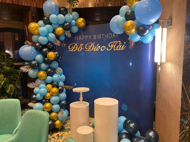 Trang trí sinh nhật người lớn tại Đống Đa