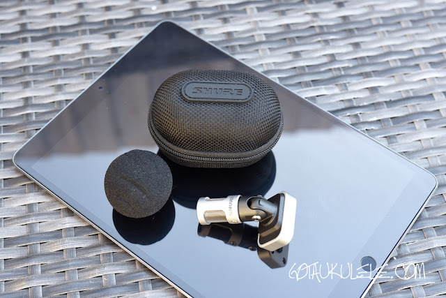 Shure MV88 Microphone - Got A Ukulele