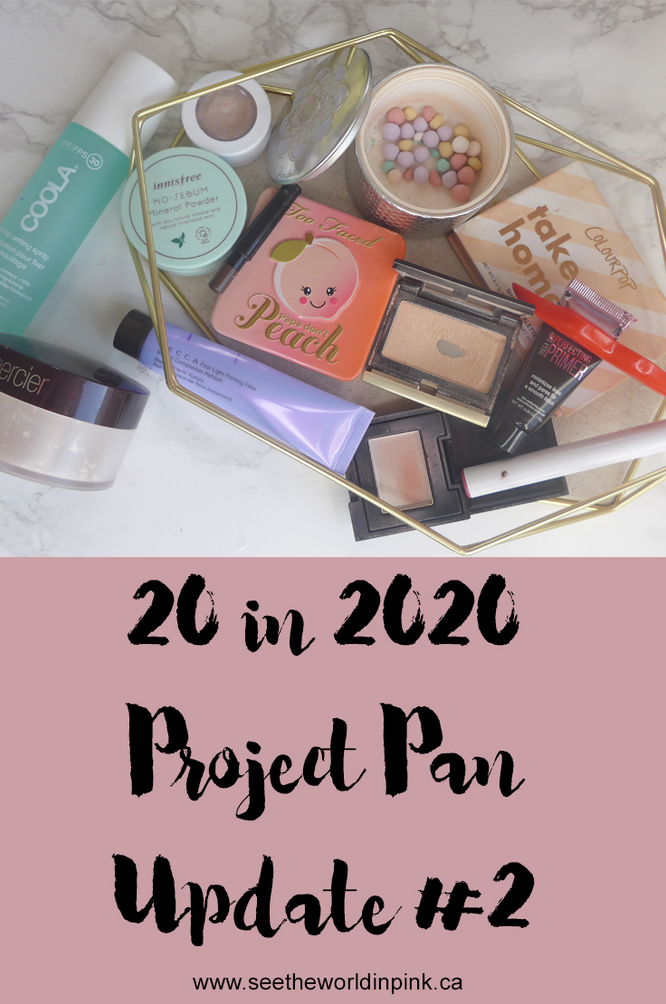 20 in 2020 Project Pan - Update #2
