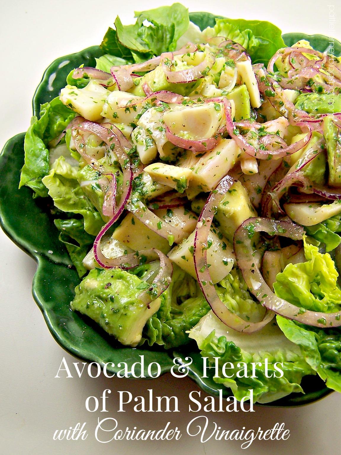 Olla-Podrida: Avocado & Hearts of Palm Salad with ...