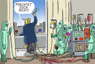 German press on Trumps recovery Be not afraid