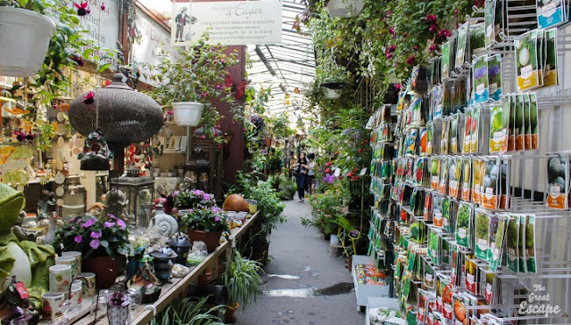 Mercados Flower and Bird Markets em Paris