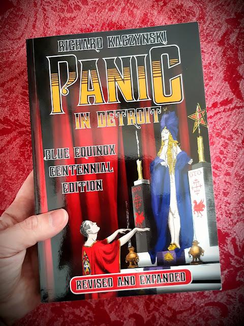 Panic in Detroit. The Magician and the Motor City. Aleister Crowley. Ordo Templi Orientis. OTO. Richard Kaczynski