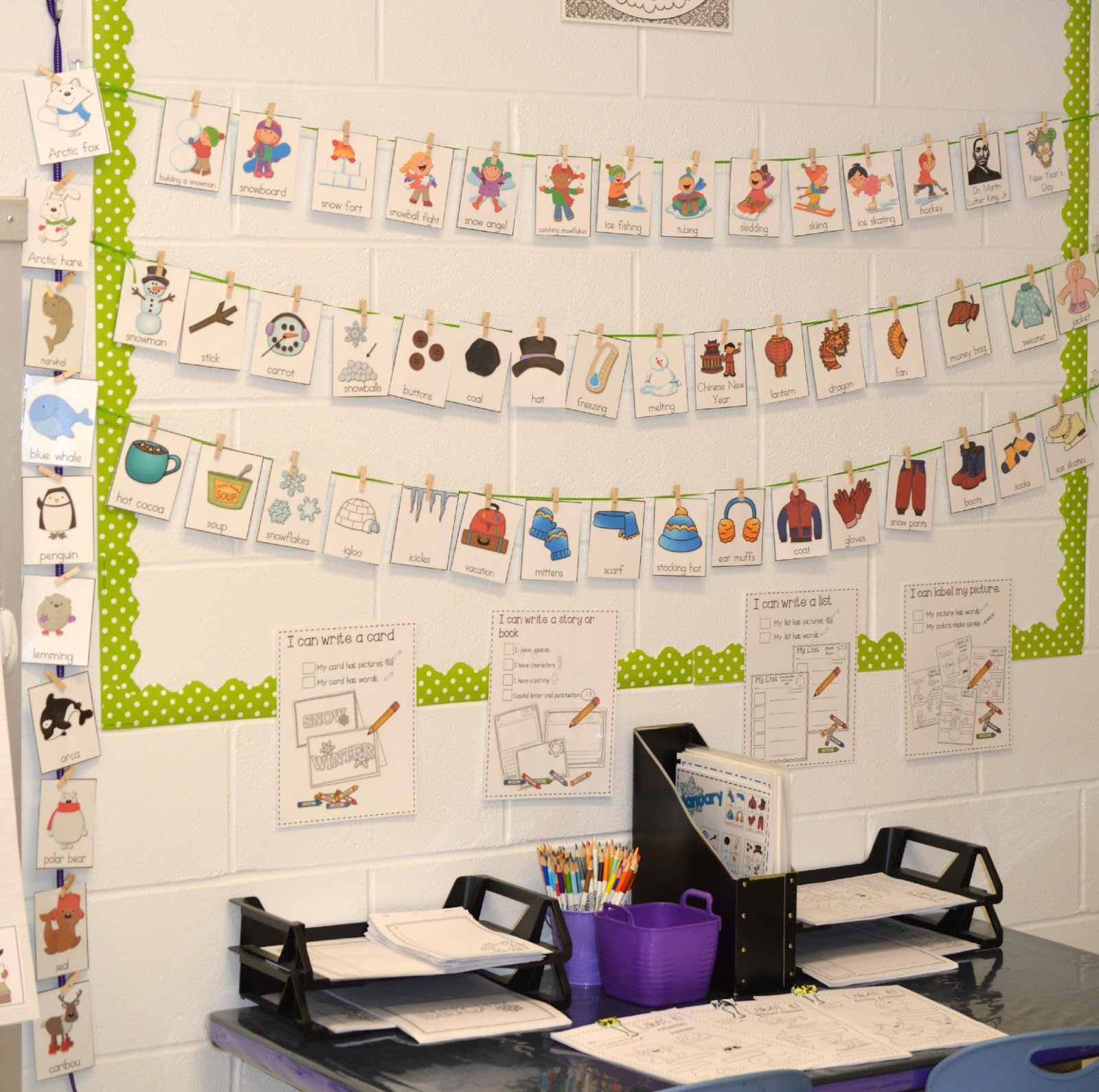 Kindergarten Writing Station 5 Tips