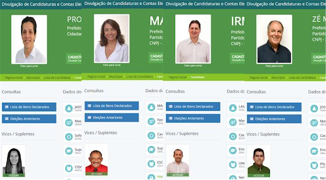 Zé Mauro Chaves, Mary Gouveia, Jadson Caetano e Irmão Lailton tem candidaturas registradas no TRE
