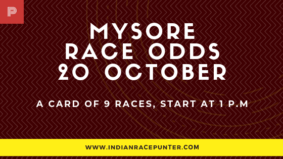 Mysore  Race Odds, free indian horse racing tips, indiarace