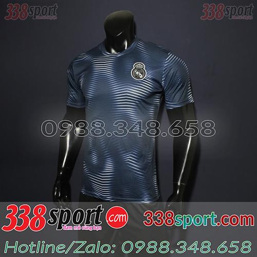 Áo bóng đá màu tím than