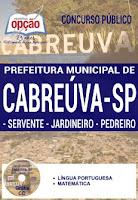 Concurso de Cabreuva edital 2016