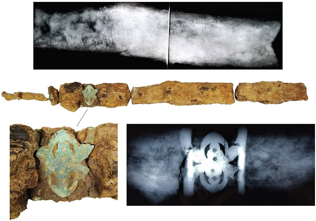 Iron Age 'warrior' burial uncovered in West Sussex