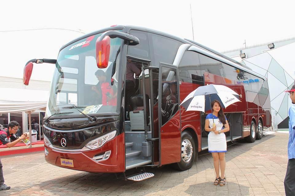 Ini Dia Bus Terpanjang di Indonesia Udah Lihat Belum