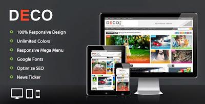 Deco - Magazine Blogger Template