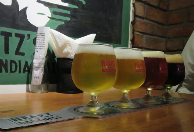 Craft beer at Heart of Darkness in Ho Chi Minh City Vietnam