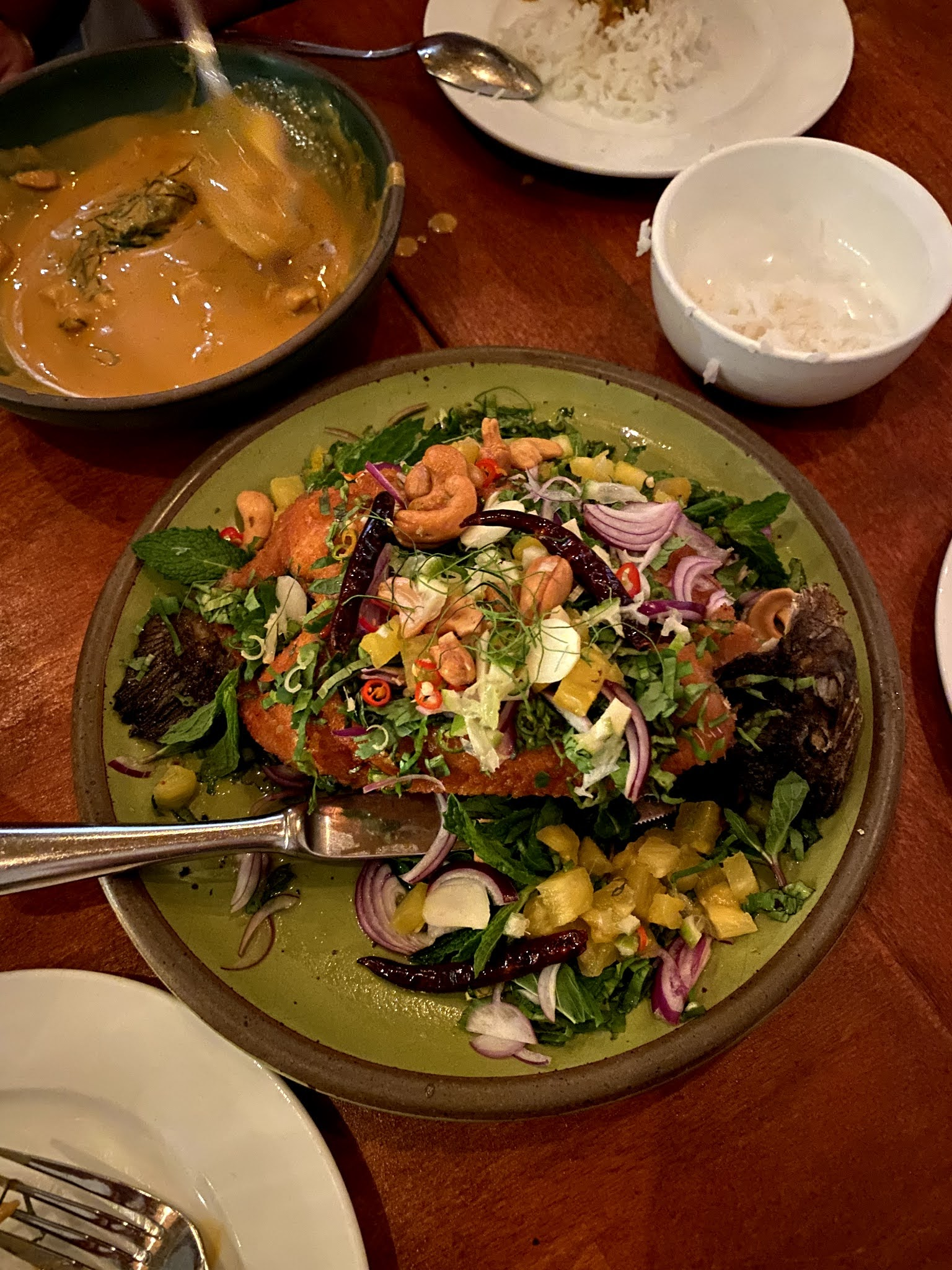 fried fish at fish cheeks bowery fran acciardo nyc restaurants