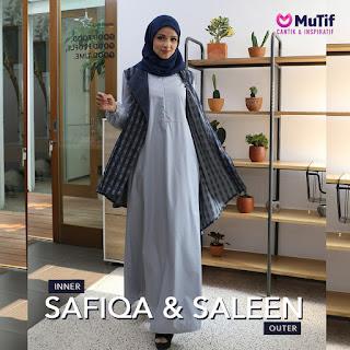 Koleksi Gamis terbaru Mutif Gamis Safiqa
