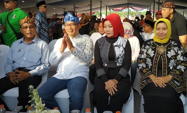 Didampingi Bupati Ciamis, Ridwan Kamil Buka Jambore Desa Jabar 2019 di Ciamis Dihadiri 6 ribu peserta